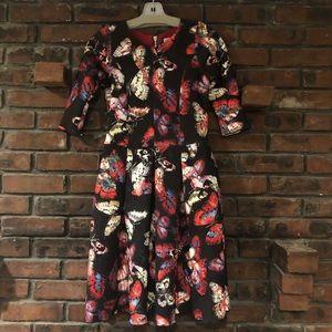 COPY - Girls butterfly flare dress